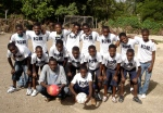 ICB primary school soccer team